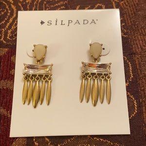Silpada KBR Brass Earrings